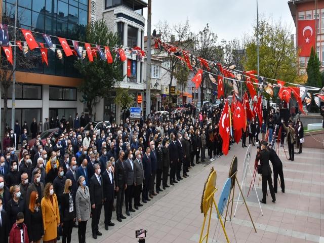 Ulu Önderimiz Atatürk'ü 82. Yıldönümünde Malkara'da Özlemle Andık