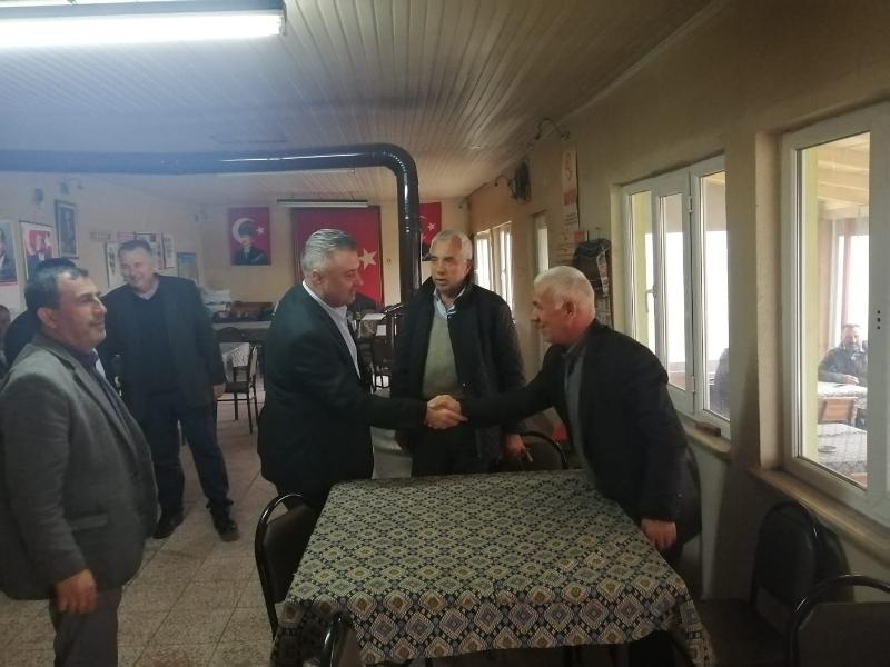 Başkan Yurdakul, Kozyörük Mahallesinde İncelemelerde Bulunuldu
