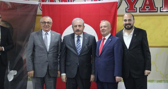 TBMM Başkanı Mustafa Şentop Malkara'da