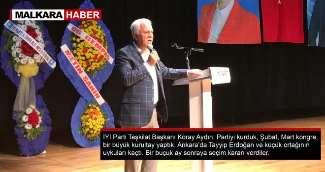 İYİ Partili Koray Aydın, İktidar Sallantıda!