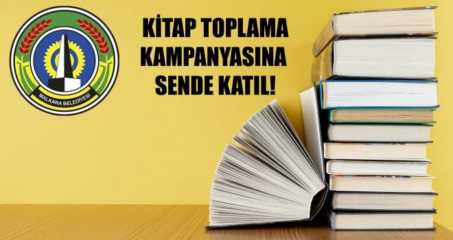 Malkara Belediyesi'nden Kitap Toplama Kampanyası