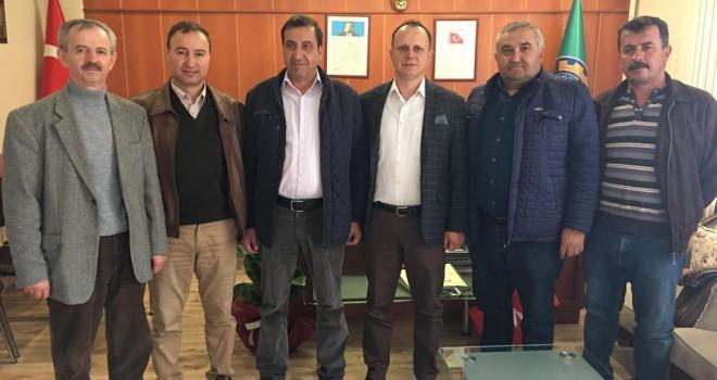 Başkan Durgun'dan Ziraat Odası Başkanı Mustafa Gündüz'e Ziyaret