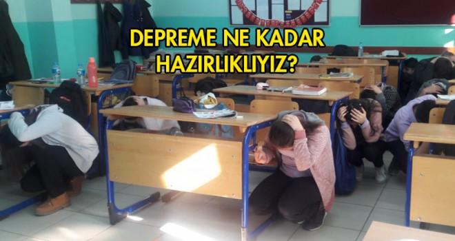 Okul'da Deprem Tatbikatı!