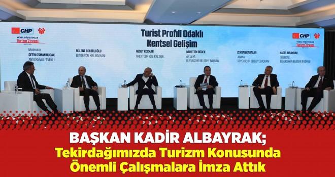 Başkan Albayrak, Yerel Yönetimler Zirvesine Konuşmacı Olarak Katıldı