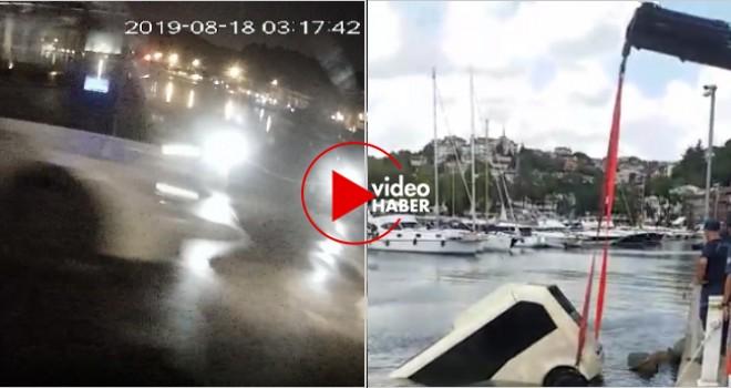 Minibüs balık tutanlara çarpıp denize uçtu: Biri ağır 6 yaralı