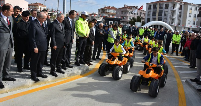 Trakya Bölgesi'nin İlk Trafik Eğitim Parkı Açıldı