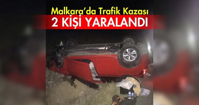 Takla Atan Otomobil'den Yaralı Olarak Kurtuldular