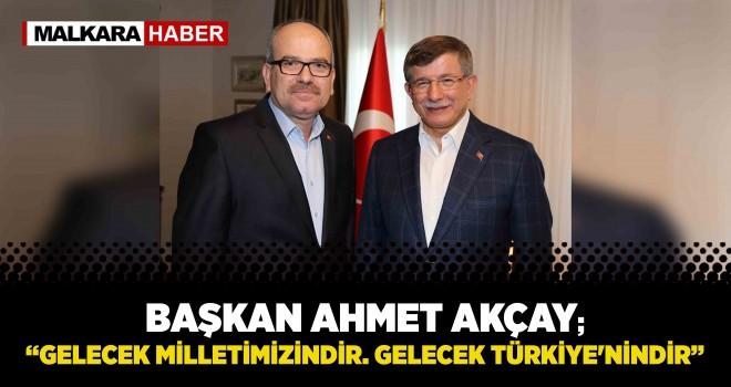 Gelecek Partisi Tekirdağ'da Sahaya İndi