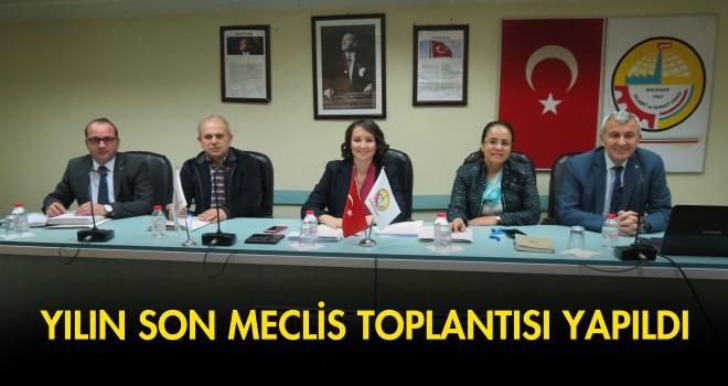 MALKARA TSO YILIN SON MECLİS TOPLANTISINI YAPTI