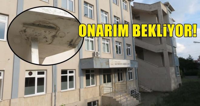 Gazi Ömer Bey Anadolu Lisesi Onarım Bekliyor!