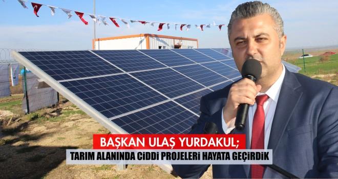 Malkara Güneş Enerjisi Üretim Tesisi Hizmete Açıldı