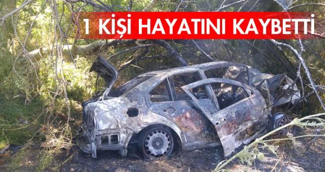 Tekirdağ'da Trafik Kazası; 1 Ölü