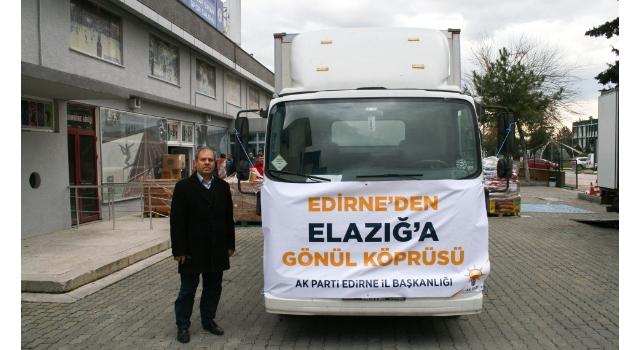 Edirne'nin Destekleri Elazığ'da