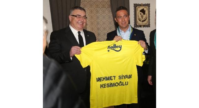 Fenerbahçe'den Başkan Kesimoğlu'na Özel Teşekkür