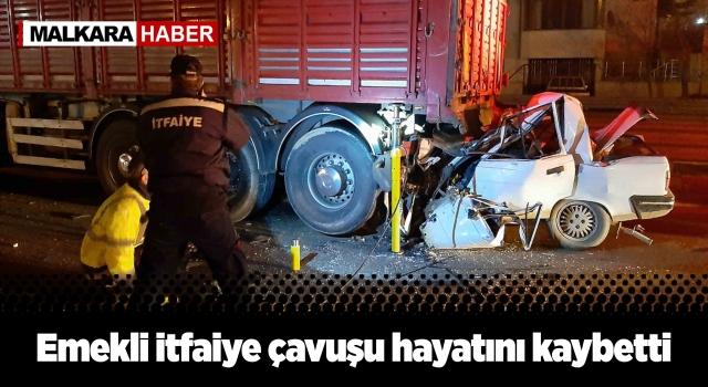 Keşan'da Feci Kaza. 1 Kişi Hayatını Kaybetti.
