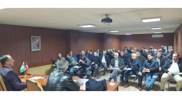 Tekirdağ DSYB Başkanı Durgun, Hayrabolu' Da Birlik Üyeleri İle Buluştu