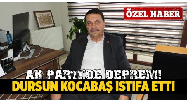 AK Parti'de Şok İstifa!