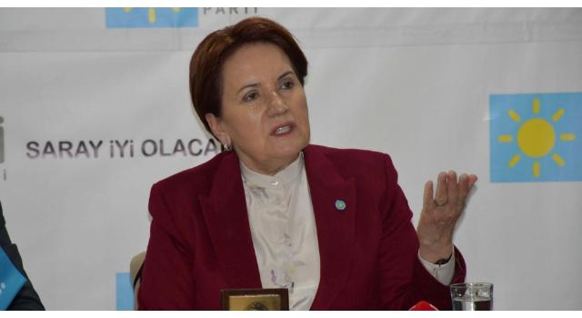 Akşener: Türkiye'nin beka meselesi gençlerimizin ülkeye inancının ortadan kalkmasıdır