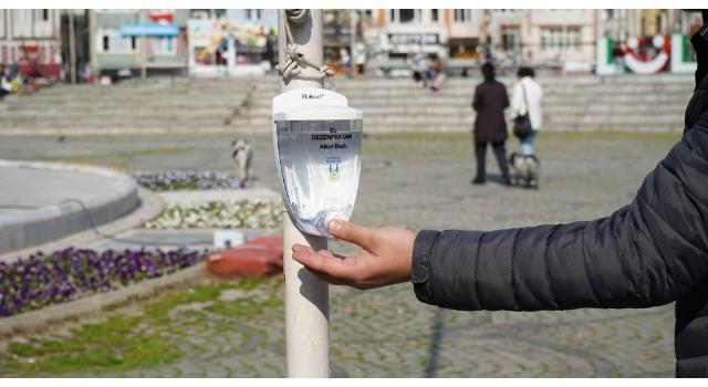 Lüleburgaz Belediyesi , koronavirüs riskine karşı seferber oldu