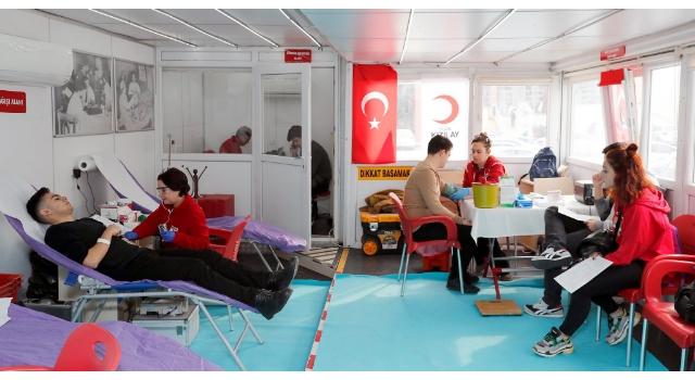 Trakya Üniversitesi, Kızılay'a desteğini sürdürüyor
