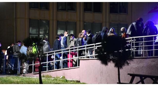 Yurt dışından getirilen 175 öğrenci Çorlu'da yurtlara yerleştirildi
