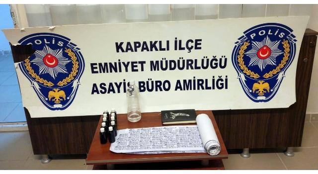 Kaçak Etil Alkol Temin Eden Karı Kocaya Operasyon