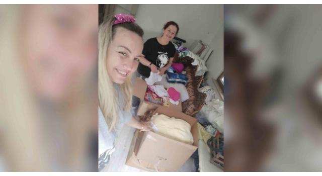 Lüleburgaz'da çocukların bayramlığı gönüllü annelerden
