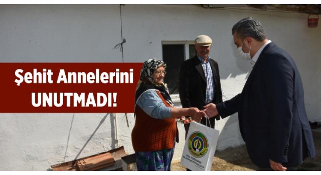 Malkara Belediye Başkanı Ulaş Yurdakul'dan Şehit Annelerine Anlamlı Ziyaret