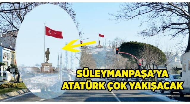 Ata Tepe ve Paşa Park için ilk kazma vuruluyor