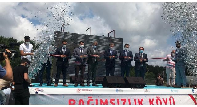 İstanbul'da bir ilk:Madde bağımlılarının tedavisi için 'Bağımsızlık Köyü' açıldı