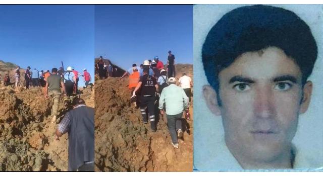 Arıtma tesisi inşaatında göçük: 1 işçi öldü