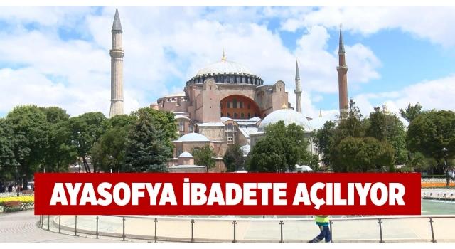 Danıştay, Ayasofya'yı müze yapan kararı iptal etti