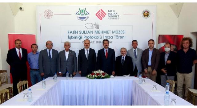 Fatih Sultan Mehmet'in eğitim gördüğü medrese müze oluyor