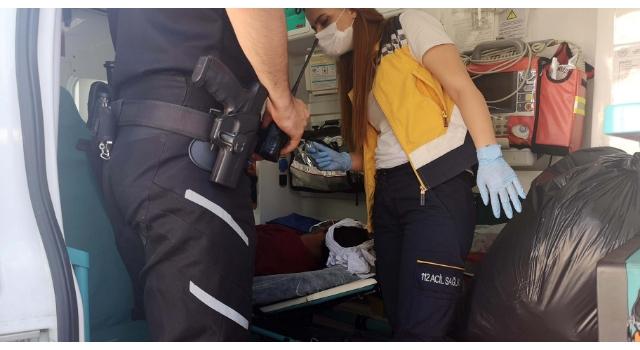 Husumetlisini başından sopayla yaraladı, tutuklandı