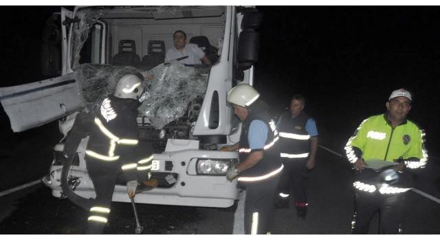 Malkara-Tekirdağ Karayolunda Kaza; 1 Yaralı