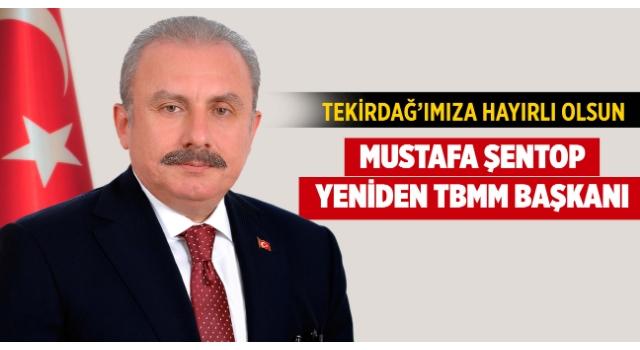 Mustafa Şentop yeniden TBMM Başkanı