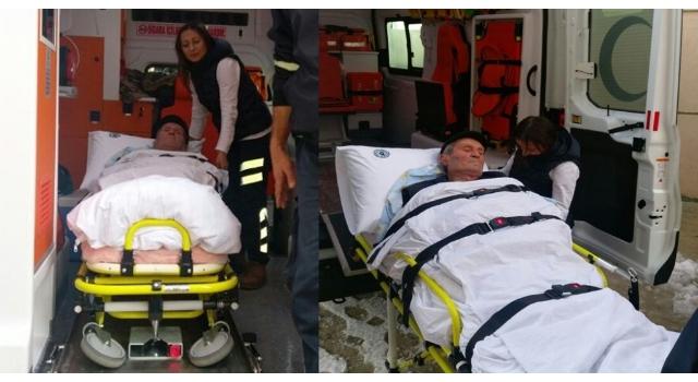 Tekirdağ Büyükşehir Belediyesi'nden Hasta Nakil Hizmeti