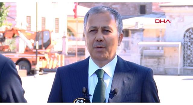 """Vali Yerlikaya """"Ayasofya-i Kebir Cami-i şerifi açılış programı"""" tedbirlerini açıkladı"""