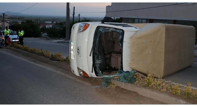 Kaza yapan yaralı sürücünün alkol promili, alkolmetre ile belirlenemedi
