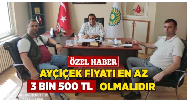 Yağlı Tohumlar Başkanı Cem Özkan; Desteğin Vergi Kesintisi Olmaz!