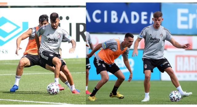 Beşiktaş'ta Trabzonspor maçı hazırlıkları sürdü
