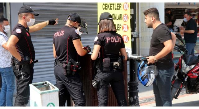 'Hemen geliyorum' diyerek polisten kaçan maskesiz motosikletliye 4 suçtan ceza