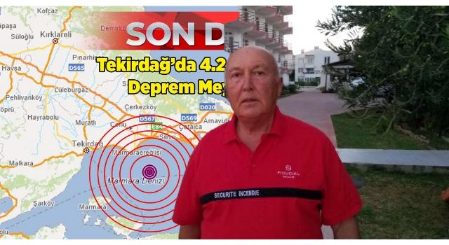 Prof. Dr. Ercan: Marmara Ereğlisi depremi uyarıcı