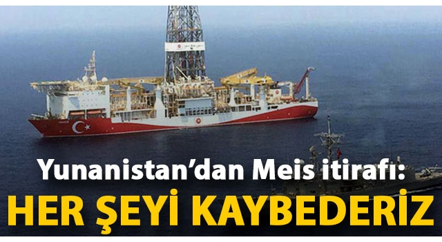 Yunan milletvekili Kammenos'tan Meis itirafı: Lahey'e gidersek kaybederiz