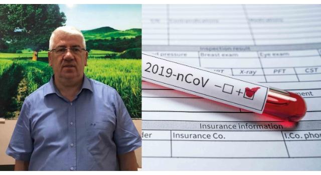 Ergene Belediye Başkanı Yüksel'in Covid-19 testi pozitif çıktı