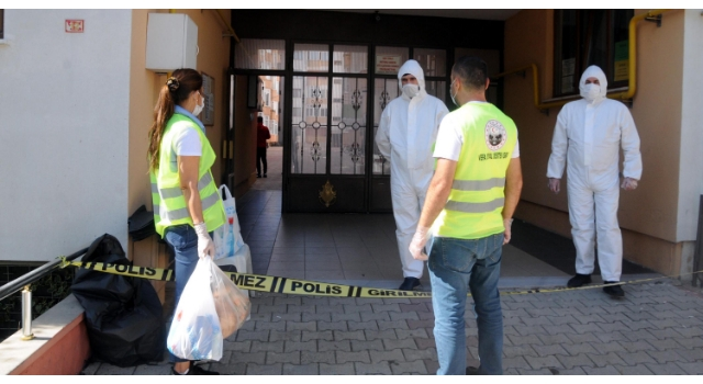 Kırklareli'de 94 daireli siteye koronavirüs izolasyonu