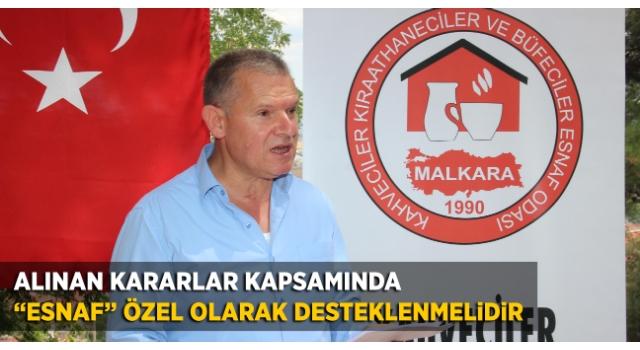 Başkan Osman Alcan; Esnafa Acil Destek Şart!