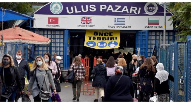 Edirne'nin meşhur Ulus Pazarı, 2 hafta açılmayacak