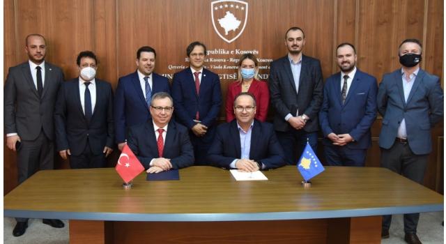 Balkanlar'da yapılacak Kosova Teknopark için protokol imzalandı