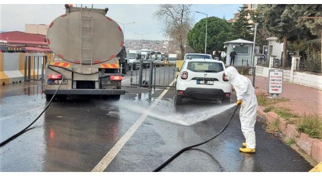 Süleymanpaşa'da salgınla mücadele sürüyor